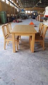 Meubles De Salle À Manger à vendre - Vend Ensemble Table Et Chaises Pour Salle À Manger Contemporain Feuillus Asiatiques Hevea