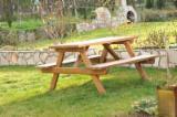 Négoce International De Meubles De Jardin - Vend Tables De Jardin Meubles En Kit - À Assembler Résineux Asiatiques Epicéa (Picea)
