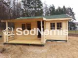 Holzhäuser - Vorgeschnittene Fachwerkbalken - Dachstuhl Zu Verkaufen - Fichte