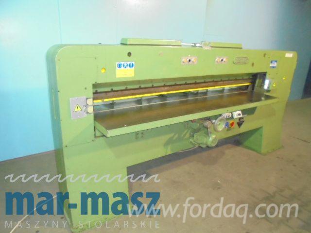 Guillotinas-Maquinaria-para-la-madera-Josting-Usada-1990-En-Venta