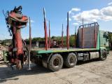 Camion Transport Busteni - Camion Forestier MAN cu maraca Palfinger Epsilon 120Z