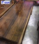 Buy And Sell Wood Components - Register For Free On Fordaq - Wenge / Suar / Raintree / Black Walnut Wood Slabs