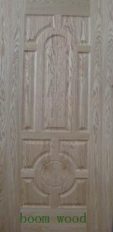 Wholesale Timber Cladding - Weatherboards, Wood Wall Panels And Profiles - HDF Natural Ash Veneer Door Skin