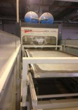 Used Italpress Lock Form SS AIR 2000 Membrane Press System For Sale Germany