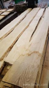 Hardwood  Unedged Timber - Flitches - Boules - Ash / Beech / Oak Loose Planks, 27-50 mm