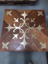 Solid Wood Flooring China - Oak Tile Parquet on Edge