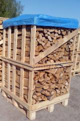 白俄罗斯 - Fordaq 在线 市場 - 劈好的薪柴-未劈的薪柴 薪碳材/开裂原木 桦木, 角树, 橡木