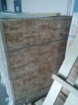 Edge Glued Panels Glued Discontinuous Stave  For Sale - Pine Glued Solid Panels