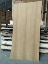 3.6-4.6 mm Flower Grain Teak Veneer Plywood