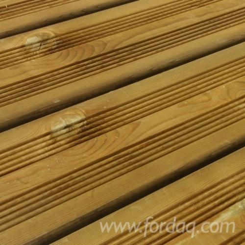 lame terrasse pin classe iv vert ou marron 21 27x145mm longueurs de 2m 5 10m. Black Bedroom Furniture Sets. Home Design Ideas