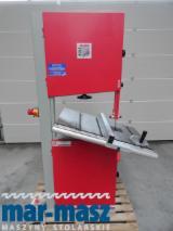 Piła taśmowa Holzmann HBS 610, pilarka do drewna wstęgowa, maszyna używana
