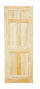 Готовые Изделия (Двери, Окна И Т.д.) - Хвойный Лес Из Южной Америке, Двери, Древесина Массив, Сосна Елиотис