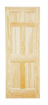 Wood Components, Mouldings, Doors & Windows, Houses South America - Elliotis Pine Doors 35, 40 mm