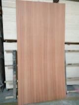 Sell And Buy Marine Plywood - Register For Free On Fordaq Network - 6 mm Sapele / Poplar Core Fancy Plywood