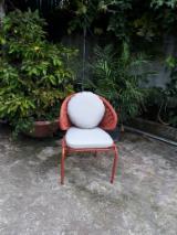 Mobili da Sala da Pranzo - Vendo Sedie Da Pranzo/Cena Design Other Materials Alluminio, Rattan - Vimini - Canna