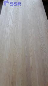 Koop En Verkoop Massief Houten Panelen - Meld U Gratis Aan Op Fordaq - 1-laags Massief Houten Paneel, Essen Wit