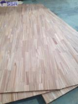 Buy And Sell Edge Glued Wood Panels - Register For Free On Fordaq - Acacia Finger Joint/ Solid Wood For Countertop/ Kitchen Top/Table Top