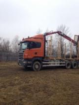 null - Kamion Za Prevoz Dužih Stabala Scania Polovna Rumunija