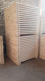 Pallet lumber - Pine / Aspen / Birch / Alder Pallet Timber 22 mm