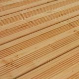 Larch Exterior Decking, FSC, 27x145 mm
