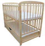 Kids Bedroom Furniture - Beech / Oak Baby Cribs
