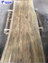 Buy And Sell Wood Components - Register For Free On Fordaq - Raintree / Monkey Pod / Wenge / Suar / Black Walnut Slabs