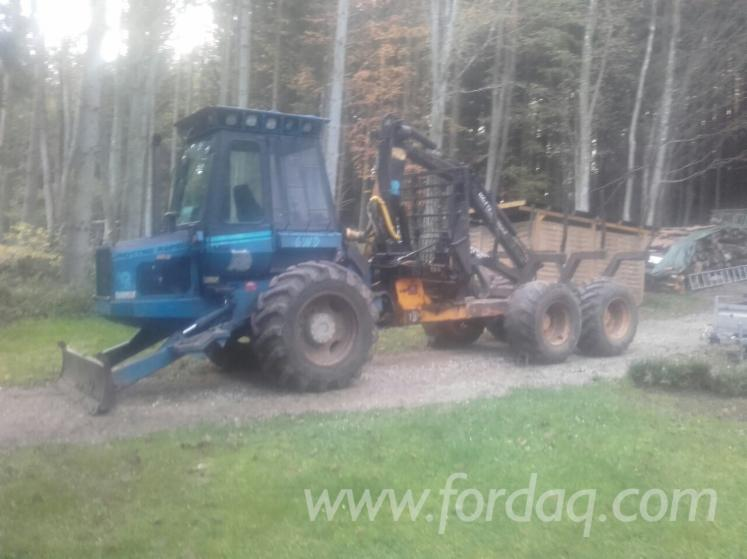 Used-Rottne-Rapid-1991-Forwarder