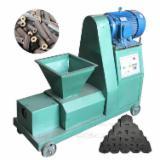Briquetting Press - wood sawdust charcoal briquette making machine biomass briquette machine