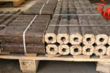 Firewood, Pellets And Residues - Selling Larch / Spruce Wood Briquets