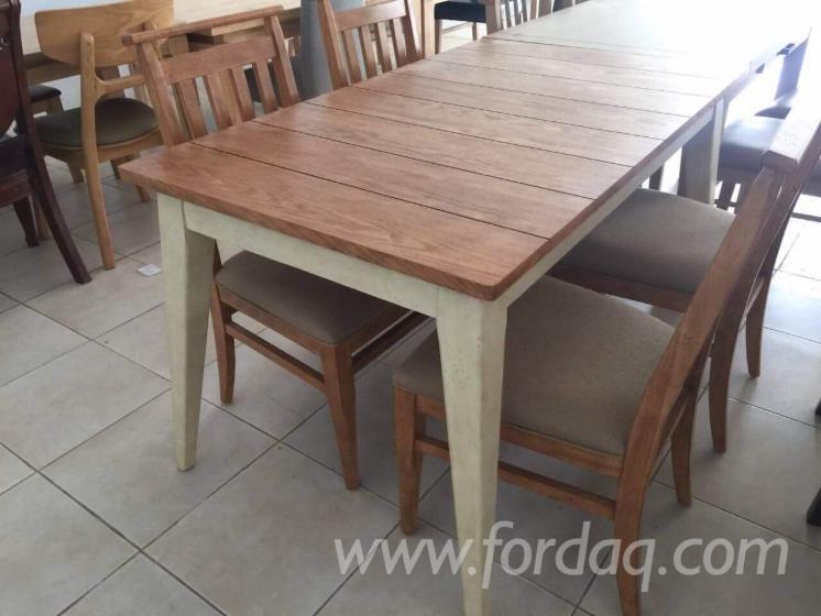 Vend Ensemble Table Et Chaises Pour Salle A Manger Contemporain