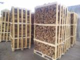 Firewood, Pellets And Residues - Oak Firewood / Woodlogs Cleaved