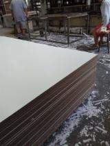 Engineered Wood Panels - Melamine Paper Faced MDF ,different thickness