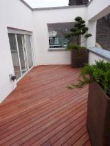 Luxembourg - Fordaq Online market - Padouk Decking System With Invisible Fixation