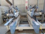 Woodworking Machinery For Sale - Tenoning and Profiling Line for doors, windows and Parquet prefinished GMC TSG48 and PDA2