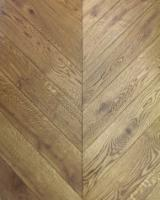 Solid Wood Flooring Poland - Oak Chevron Parquet / Floorboards T&G