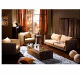 Livingroom Furniture For Sale - Acacia / Water Hyacinth Sofa Set