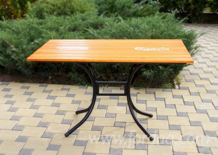 Vend Tables De Jardin Traditionnel Résineux Européens Pin (Pinus ...