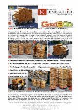 Energie- Und Feuerholz Luftgetrocknet 24 Monate - 480kg=32x15kg Brennholz Hartholz + 28=4x7kg Anzündholz abgepackt in Netzsäcke