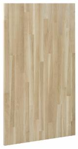 Edge Glued Panels Oak Glued Discontinuous Stave  - Oak Solid Glued Panels BC