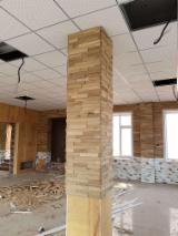 Hurt  Panele Ścienne Wewnętrzne Z Drewna  - Drewno Lite, Dąb, Panele Ścienne Wewnętrzne