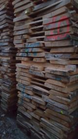 Hardwood  Sawn Timber - Lumber - Planed Timber - AD Brown Ash Unedged 50 mm