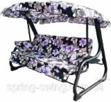 Buy Or Sell  Garden Loungers - Metal / Textile Swing Lounger