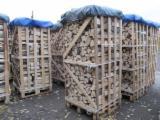 薪炭材-木材剩余物 薪碳材 未开裂原木 - 劈好的薪柴-未劈的薪柴 薪碳材/未开裂原木 榉木, 桦木, 橡木