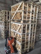 Firewood/Woodlogs Not Cleaved - Birch Firewood 25 cm