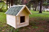 Wood Houses - Precut Timber Framing - Fir / Spruce Dog House