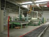 Used HOMAG 1996 Machinining Centre For Routing, Sawing, Boring, Edge Banding For Sale Germany