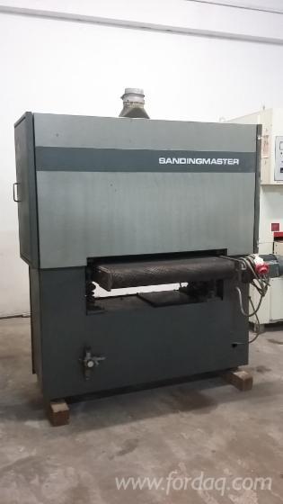 Gebraucht-SANDINGMASTER--KCSB-900-1990-Schleifmaschinen-Mit-Schleifband-Zu-Verkaufen