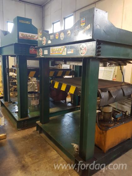 SECOND-HAND-HYDRAULIC-PRESS-BRAND-BAIONI-MOD--PH