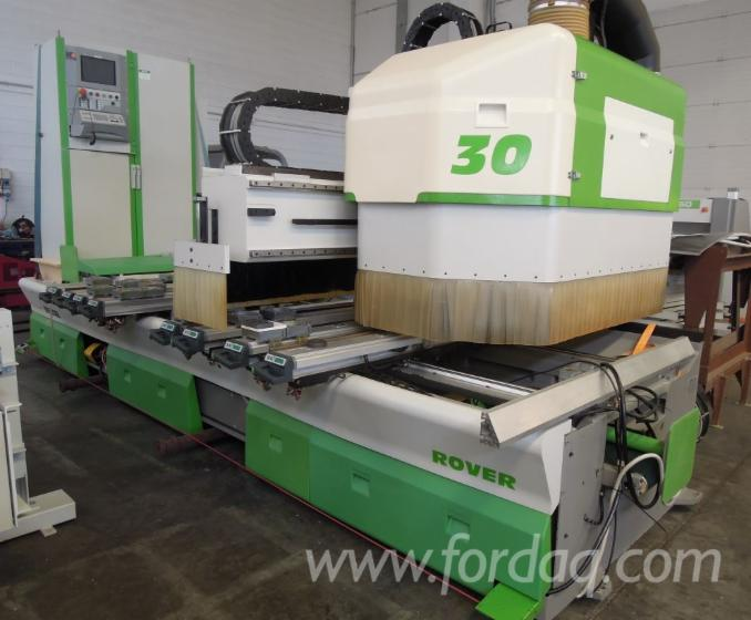 CNC-CENTER-BRAND-BIESSE-MOD--ROVER-30-S2-WITH-ACESSORIES--TOOLS