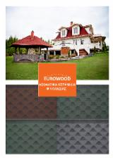 Wood Houses - Precut Timber Framing - Asphalt finnish shingles SBS